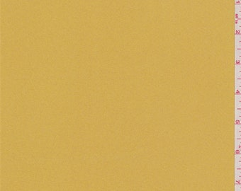 Goldenrod Yellow Crepe, Fabric By The Yard