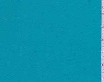 Teal Modal Tencel Jersey Knit, Fabric By The Yard