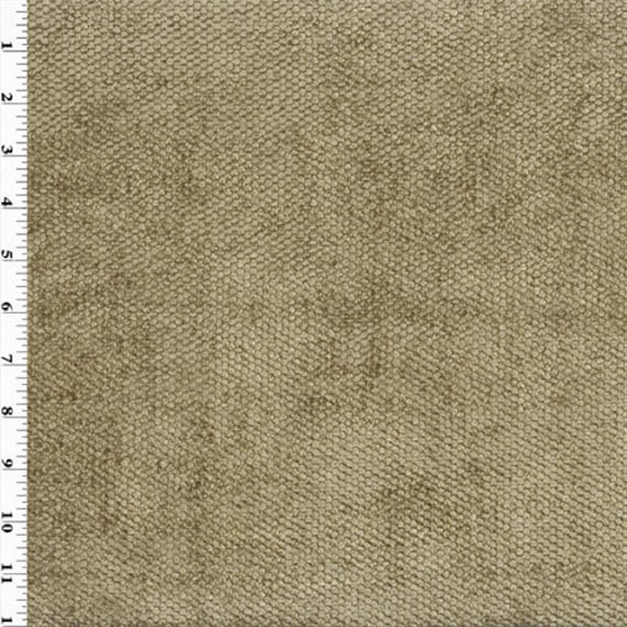 Designer Teak Brown Hermes Chenille Home Decorating Fabric, Fabric By The  Yard