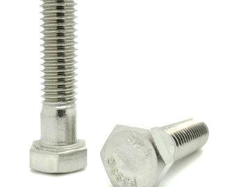 9 3//8-16x1-1//4 Hex Head Cap Screws 304 Stainless Steel