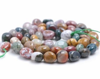 Matte Gray Picture Jasper Beads 4mm 141054011 4.7mm 15 Inch Round Beads