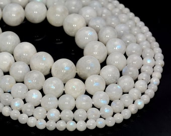 moonstone Faceted Ovel Beads 8mmx7mm-10mmx5mm 12.5 inches RB019 5 Strands Finest quality Rainbow Moonstone Oval Loose Spacer Beads