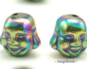 90146522-335 8mm Silver Hematite Gemstone Silver Round Loose Beads 7.5 inch Half Strand