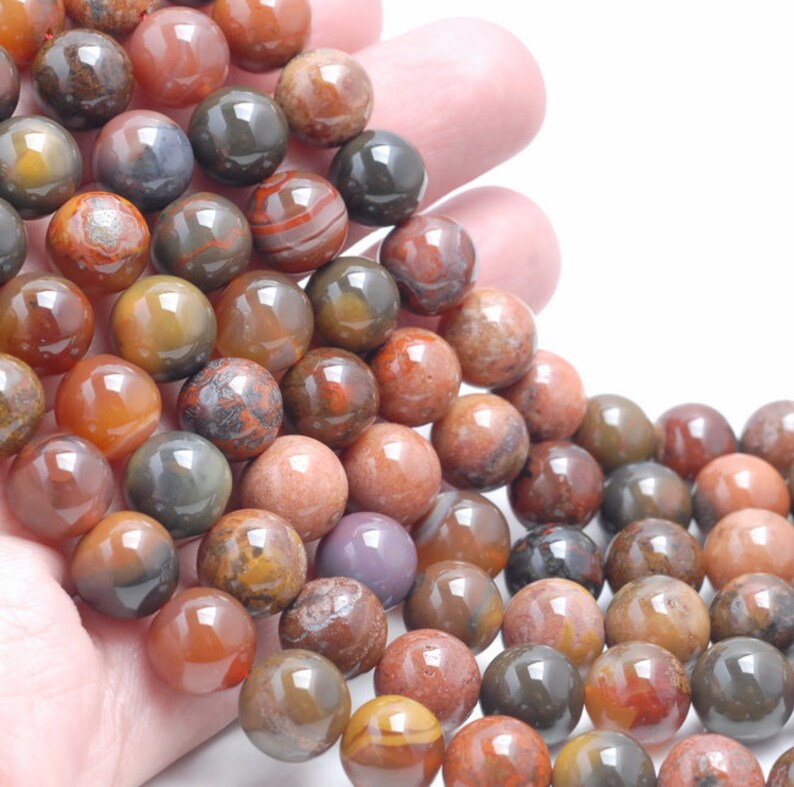 80003430-A84 12-13MM Natural Yellow Orange Agate Gemstone Grade AAA Round Loose Beads 7.5 inch Half Strand
