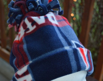 New England Patriots Fleece Hat  Men s Fleece Hat  Men s Patriots Hat  Plaid  Patriots Hat  Women s Patriots Hat 622811bf40