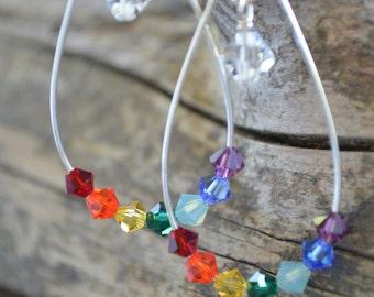 Teardrop Chakra Earrings