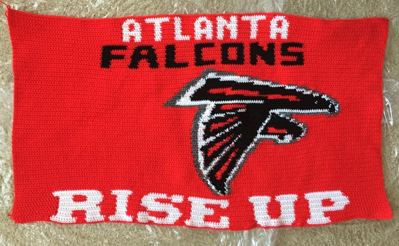 Atlanta Falcons Personalized Mini Throw