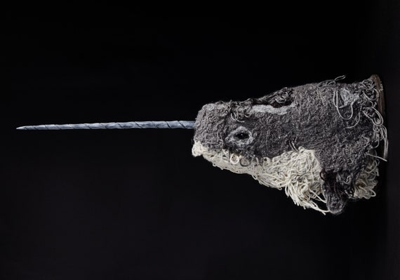 Narwhal Sculpture