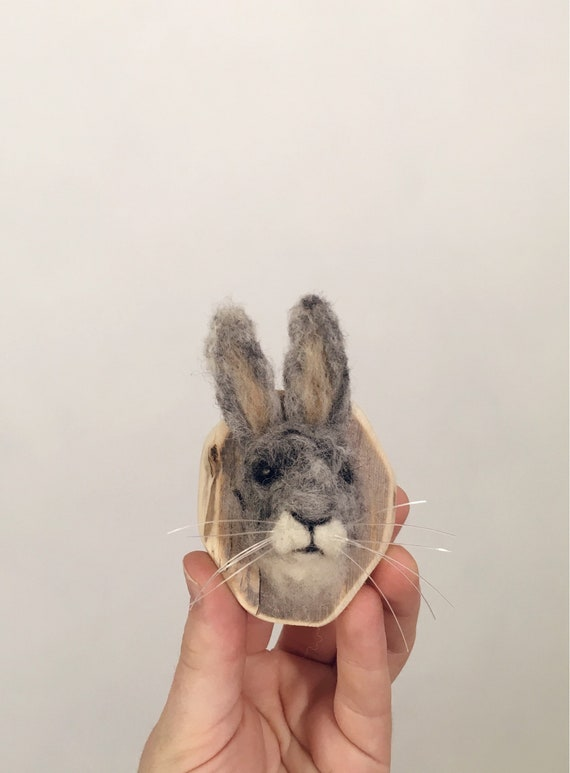 Tiny Wool Rabbit