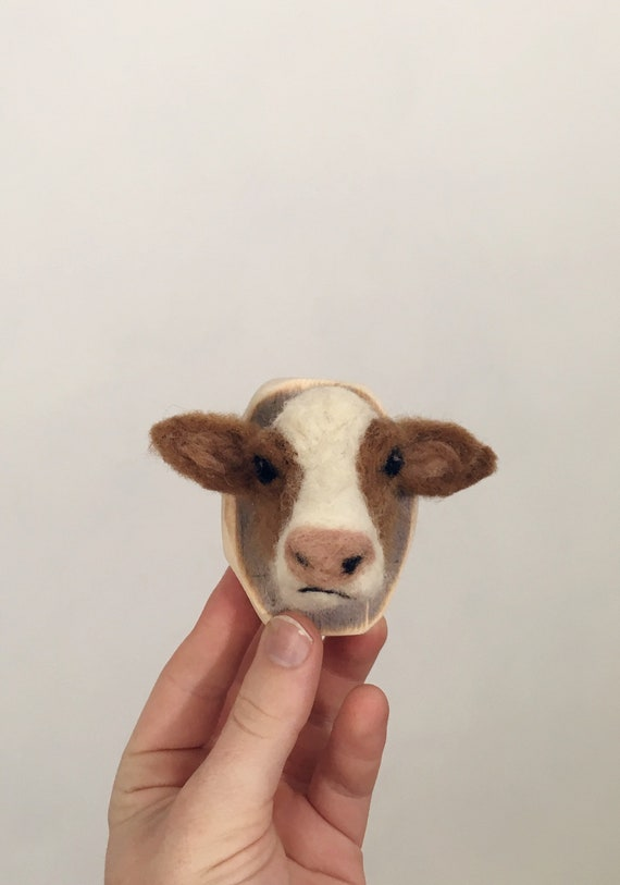 Tiny Wool Cow
