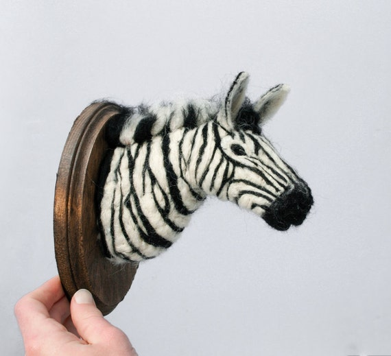 Zebra Sculpture