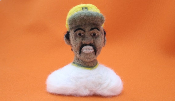 Custom Felt Portrait Bust