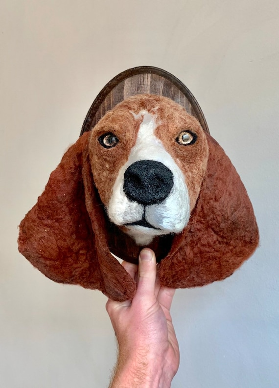 Beagle Wool Taxidermy