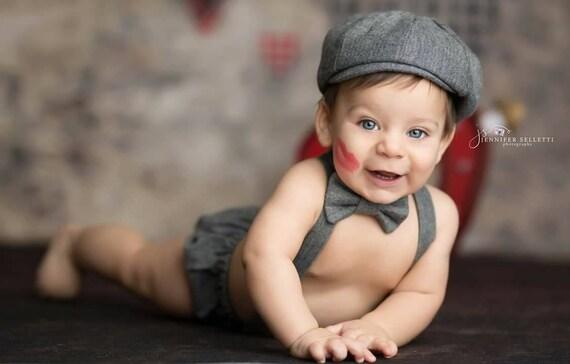 Baby Boy Baby Photo Outfit Newborn Photo Prop Newborn Boy  57f717e1c8c5