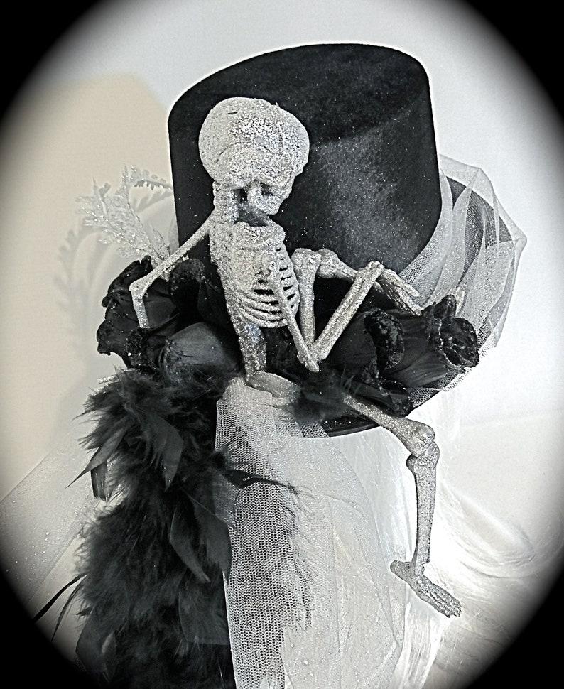 79772c6afad08 Midnight Ride Skeleton Top Hat Halloween Costume Hats PH-110