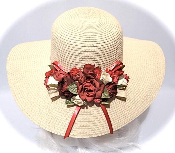 8081ba2289f Kentucky Derby Hat Sun Hats Women s Hat DH-107