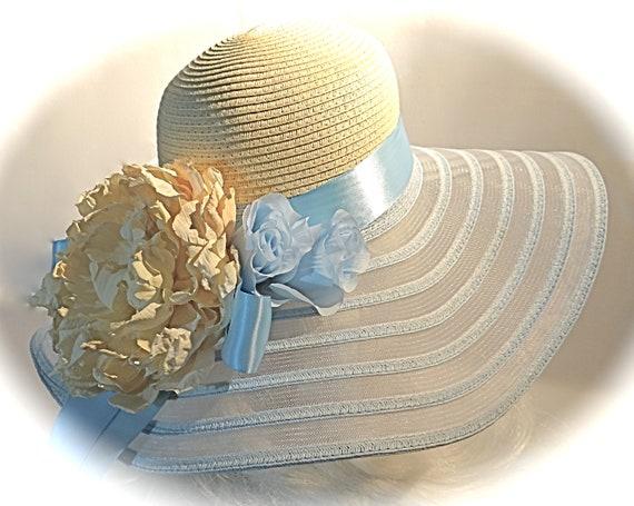 d9fc658df34 Mother of the Bride Derby Hat Sun Hats Women s Hats DH-119