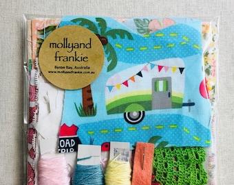 Slow Stitching Kit, Craft Kit - Holidays