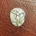 Joy Charm, Goddess Charm Talisman Lead Free Pewter