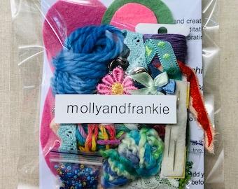 Spirit Doll Craft Kit, Sewing Kit, Fibre Art Kit