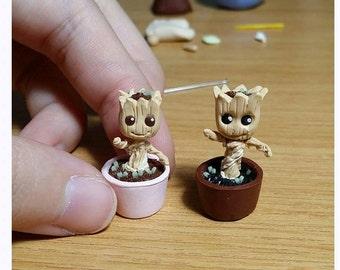 Pre-order: Miniature Baby Groot Figurine