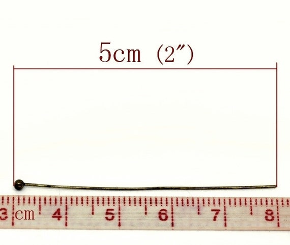 50 Biegeringe antikfarben ca 6mm