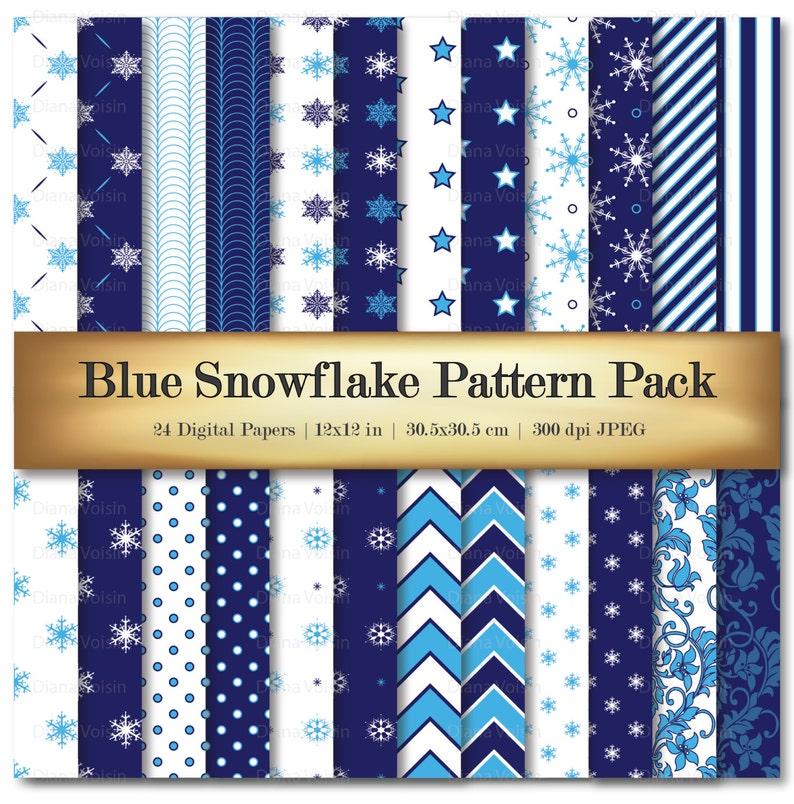 Sonstige Winter Themed Paper Pack Bastel Kunstlerbedarf