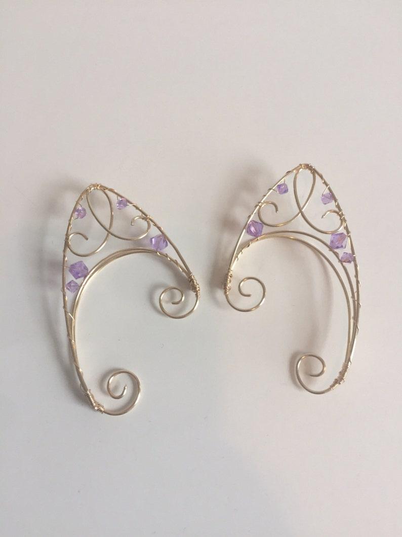 Purple elf ears