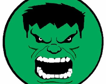 hulk face etsy rh etsy com Hulk Smash Logo Hulk Fist Logo