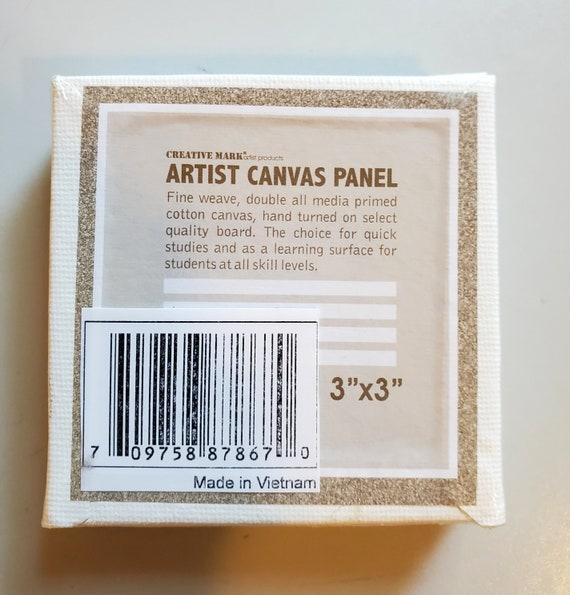 Joyibay 12PCS Canvas Panels Tragbare Leere Malpaneele Malen Canvas Pack f/ür Kinder
