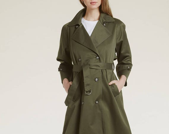 vintage all weather trench