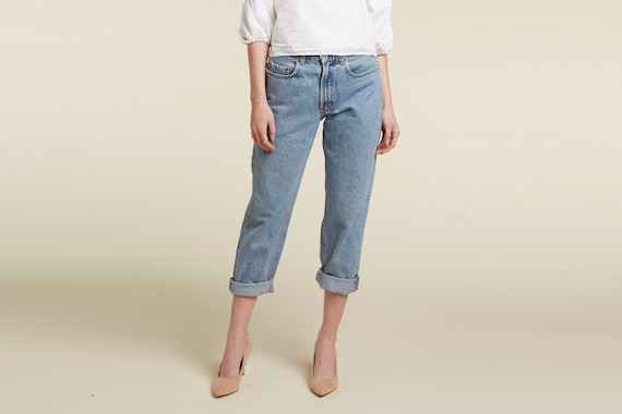 perfect stonewashed mom jean - real 90s GAP jeans