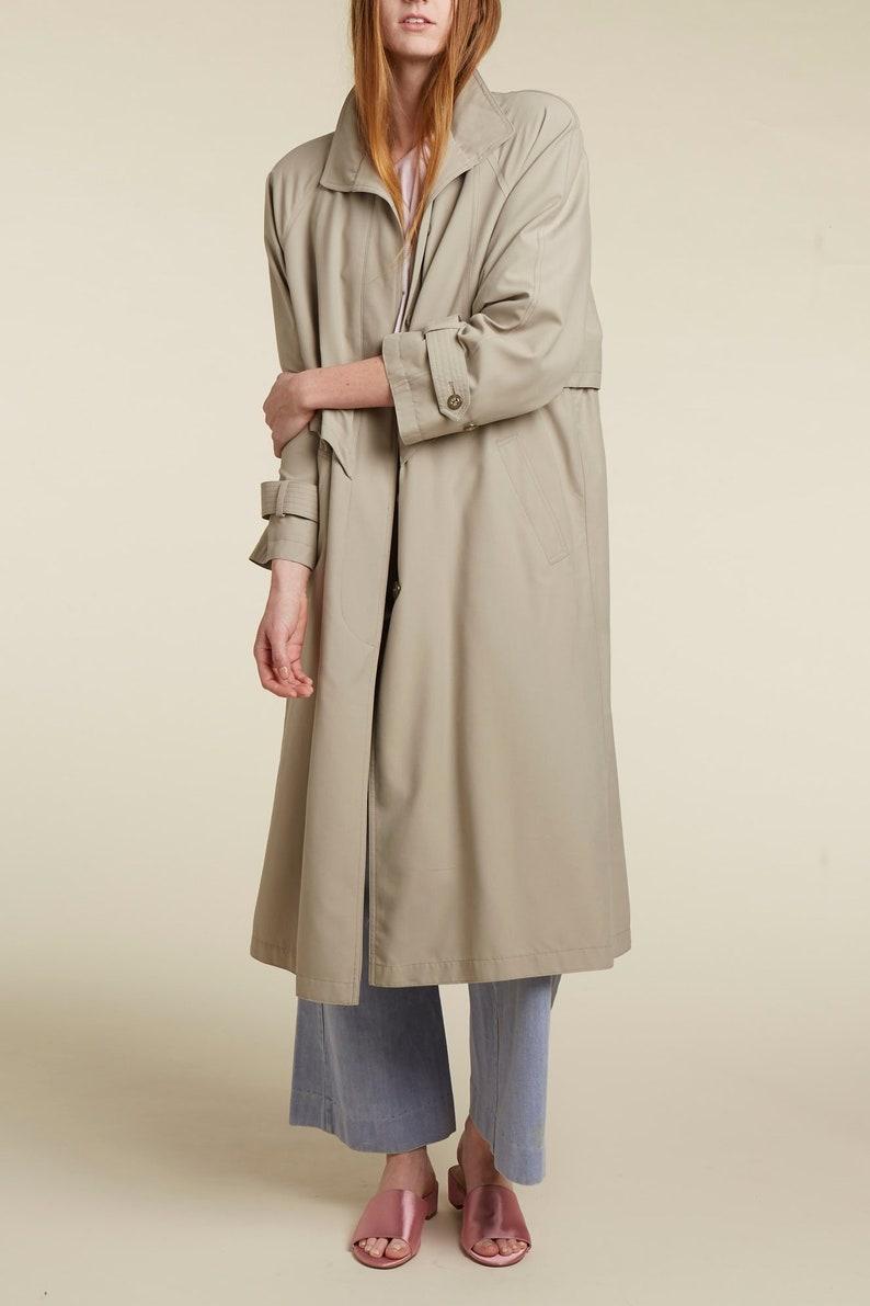 19e138c9b5fa 90s neutral trench coat