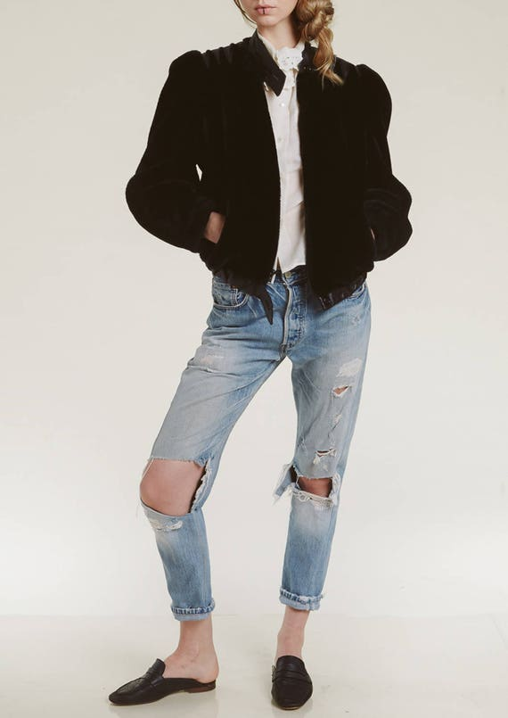 late 70s faux fur jacket
