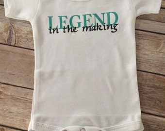 Legend Baby One Piece or Shirt (Custom Text Colors/Wording)