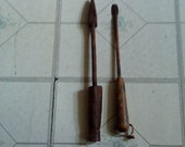 VINTAGE ANTIQUE Copper Soldering Tool 2 Pieces set