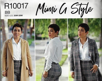 65504d6d029 Simplicity Pattern  8749 R10017~Misses  Women s Mimi G Style Coat and Pants~ Misses  10-18 or Womens  20w-28w~ New Uncut Factory Folded