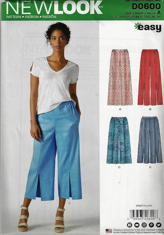 SIMPLICITY New Look Pattern 6515/D0600Misses\' Easy Sew | Etsy