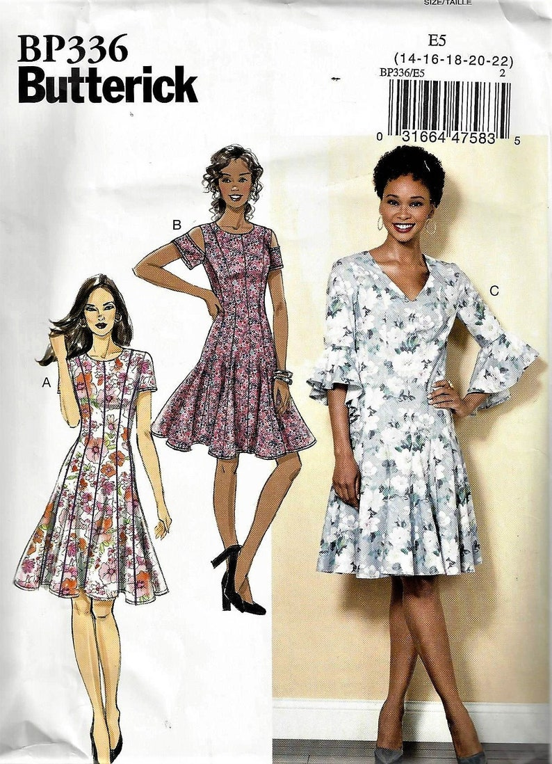 e812f7a9e54 BUTTERICK Patterns B6514 Bp336Misses  Miss Petite