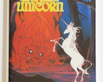 Last Unicorn Movie Poster Fridge Magnet