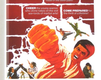 5 Fingers of Death Movie Poster Fridge Magnet