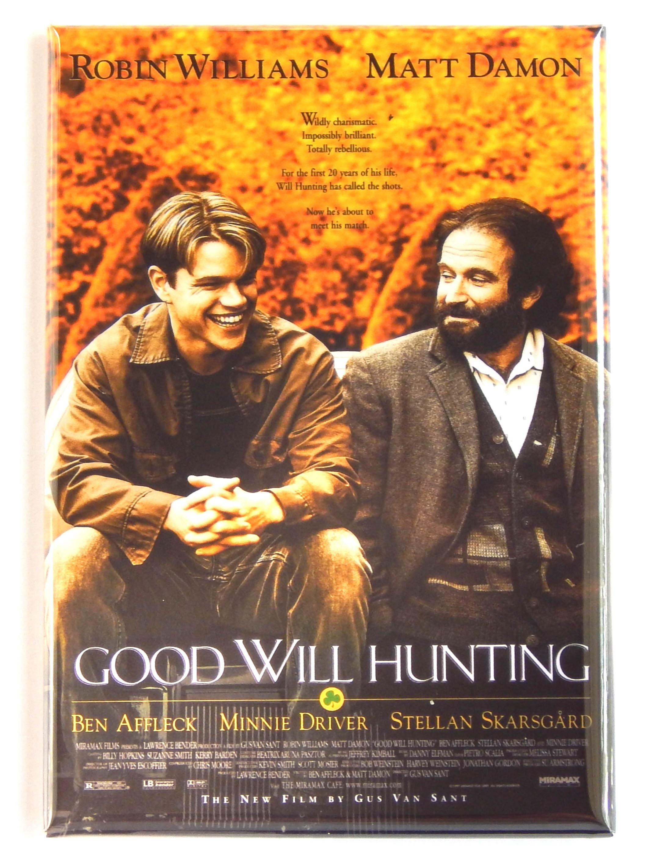 Good Will Hunting Movie Poster Fridge Magnet