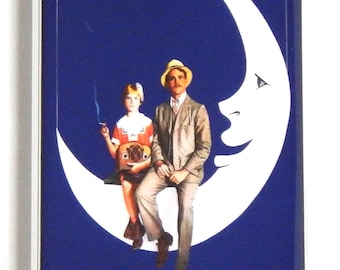 Paper Moon Movie Poster Fridge Magnet (1.5 x 4.5 inches)