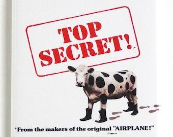 Top Secret Movie Poster Fridge Magnet