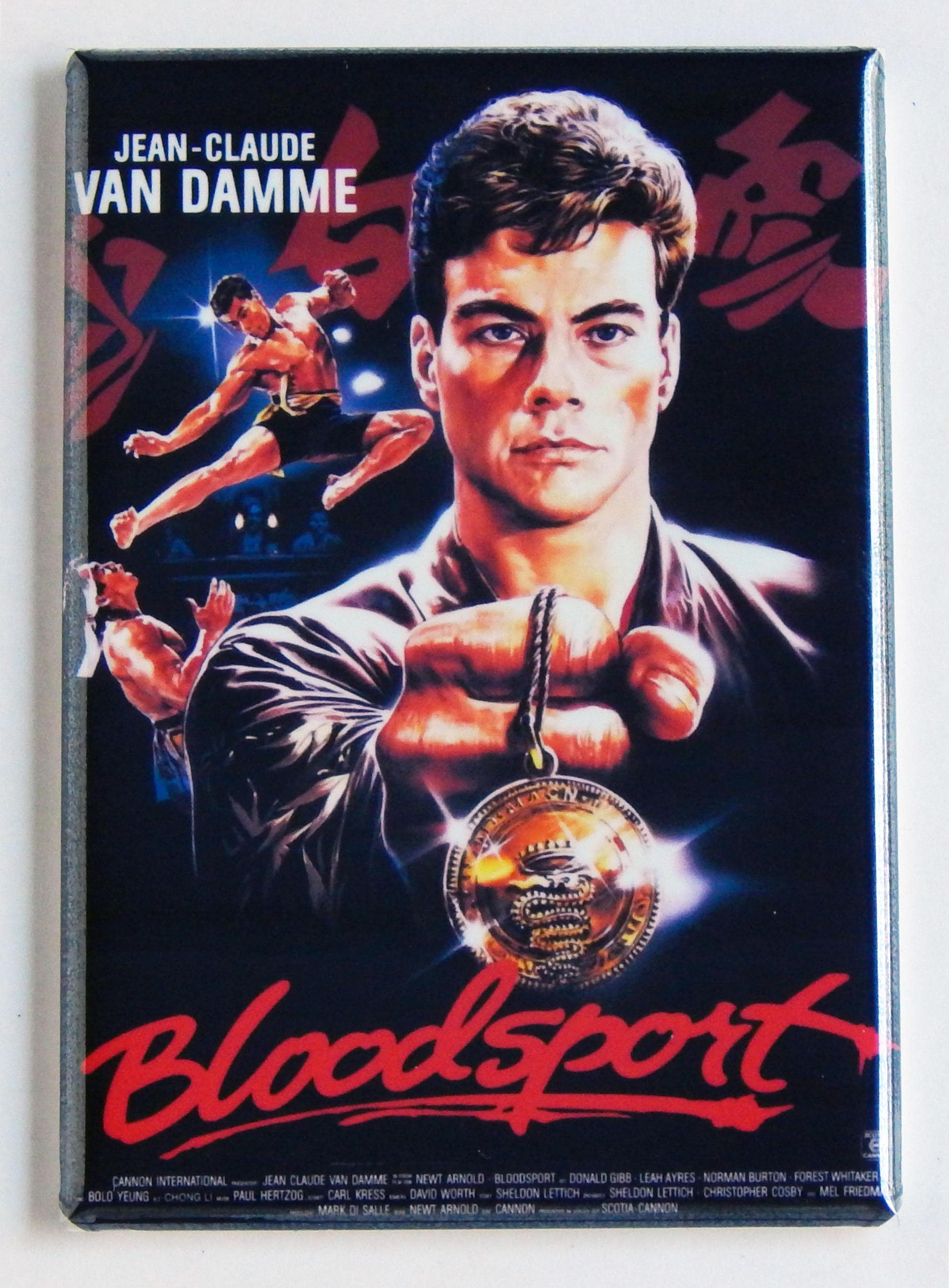 Bloodsport Movie Poster Fridge Magnet | Etsy