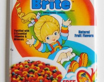 Rainbow Brite Cereal Box Fridge Magnet