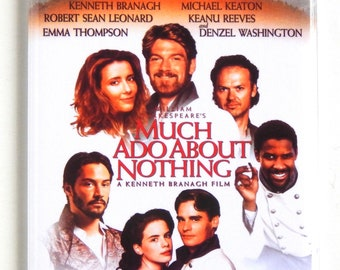 Much Ado About Nothing Movie Poster Fridge Magnet