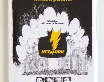Network Movie Poster Fridge Magnet