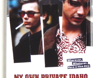 My Own Private Idaho Movie Poster Fridge Magnet