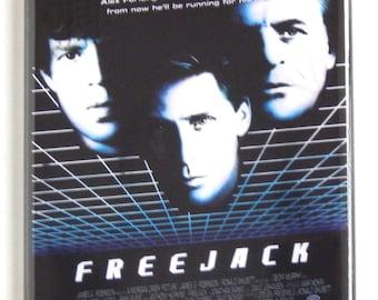 Freejack Movie Poster Fridge Magnet